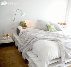 Easy DIY Ideas For Pallet Beds DIY Pallet Beds, Pallet Bed Frames & Pallet Headboards