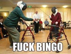 Screw bingo