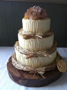 Image detail for -Rustic Wedding Cakes - Rustic Wedding Chic
