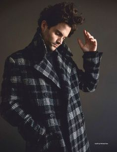Penn Badgley Stars in Da Man Cover Shoot, Talks 'You' Penn Badgley Stars in Da Man Cover Shoot, Talks 'You',pretty pics Channeling his inner model, Penn Badgley dons a checked coat by Michael Kors with a sweater. Man Magazine, Model Tips, Penn Badgley, New Tv Series, Netflix Series, Preppy Mens Fashion, Mens Fashion Sweaters, Michael Kors, Fashion Sale