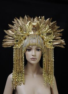 asia Headdress, Headpiece, Mermaid Crown, Tulle Bows, Textiles, Fantasy Costumes, Tiaras And Crowns, People Like, Fascinator
