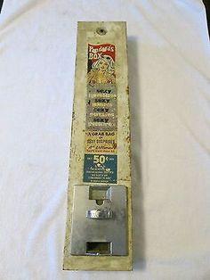 Vintage Condom Vending Machine