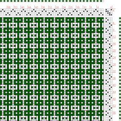 Hand Weaving Draft: Page 162, Figure 2, Orimono soshiki hen [Textile System], Yoshida, Kiju, 4S, 4T - Handweaving.net Hand Weaving and Draft...