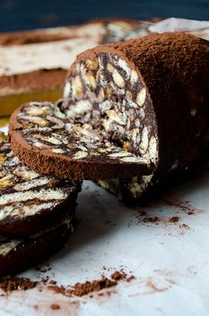 Snickers chocolate salami.