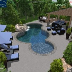 Pool Design by Wise Pool & Spa -