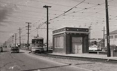(1955) S Line on Gage Ave. at Central