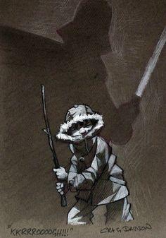 Star Wars - KKRRROOOOGH!! by Craig Davison