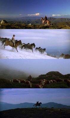 For anyone who says western saddles are for lazy riders...The Man from Snowy River (1982)