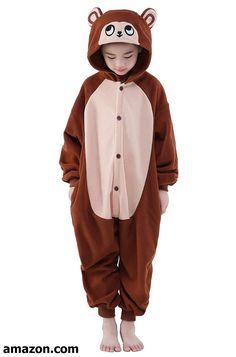 Wapaaw Children Animal Onesies Cosplay Costume Kid Boys Girls Homewear Kigurumi Pajamas Halloween Costumes for Height Monkey -- Learn more at the picture web link. (This is an affiliate link). Pyjamas Onesie, Unicorn Onesie Pajamas, Animal Pajamas, Kids Pajamas, Holiday Costumes, Halloween Costumes For Girls, Halloween Kids, Halloween Onesie, Costume Halloween