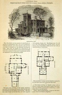 Vintage victorian house plans classic victorian home for Victorian era house plans