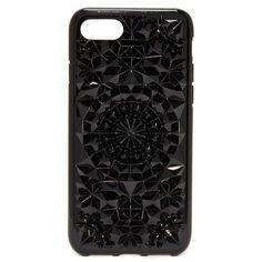 Felony Case Kaleidoscope iPhone 7 Case ($40) ❤ liked on Polyvore featuring accessories, tech accessories, phone, cases, phone cases, gloss black, apple iphone case, pattern iphone case, iphone cases and iphone hard case