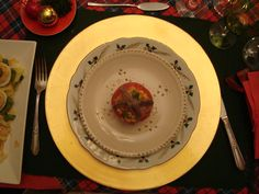 CHRISTMAS DINNER tomates rellenos at the HOUSE in B.A.