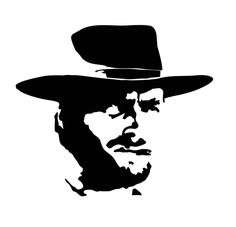 Clint Eastwood Wall Art by LynchmobGraphics on Etsy