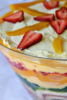 TRIFLE (and other retro recipes)