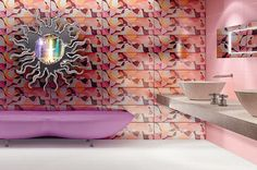 If It's Hip, It's Here: R+Evolution Ceramic Wall Tiles By Karim Rashid