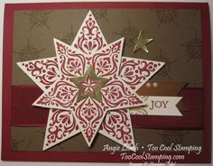 Bright & beautiful red - joy by Angie Leach