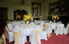 Yellow infusioned Wedding day