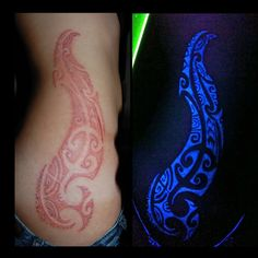 What does black light tattoo mean? We have black light tattoo ideas, designs, symbolism and we explain the meaning behind the tattoo. Uv Tattoo, Hand Tattoos, Glow Tattoo, Dark Tattoo, Body Art Tattoos, Tribal Tattoos, Cool Tattoos, Tatoos, Awesome Tattoos