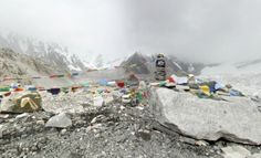 Everest Base Camp – Mount Everest, Nepal For the vast majority of us, this is the closest we'll ever get to climbing Everest. Maps Street, Mount Elbrus, Mount Everest Base Camp, Climbing Everest, Adventure Bucket List, World View, The Guardian, Cool Places To Visit, A Team