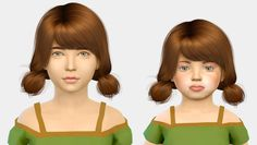 Sims 4 CC's - The Best: Wings - Kids & Toddlers by Fabienne Short Hair For Kids, Girl Short Hair, Sims 4 Toddler, Sims 4 Update, Sims 4 Cc Finds, The Sims4, Kids Shorts, Sims Cc, Taemin