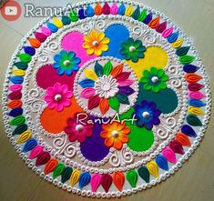 Indian Rangoli Designs, Rangoli Designs Images, Beautiful Rangoli Designs, Traditional Rangoli, Traditional Art, Latest Rangoli, Stress Relief, Outdoor Blanket, Arts And Crafts