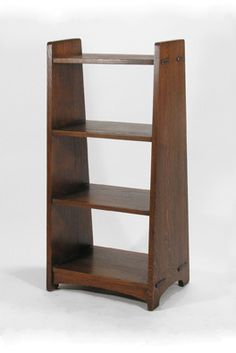 L Jg Stickley Bookshelf 47 42 Tall 20 Wide