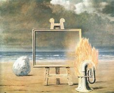 The Fair Captive, 1947 by Rene Magritte. I prefer the other version, but this is still beautiful