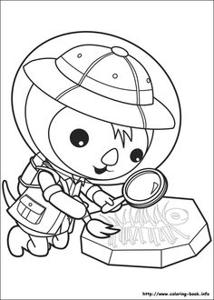 Images For U003e Octonauts Captain Barnacles Coloring Pages | Party | Pinterest  | Birthdays