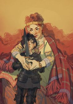 Morgause and Mordred are my favourite arthurian characters so here, both of them in a time when neither of them was overly creepy yet Kid Character, Character Concept, Concept Art, Character Illustration, Illustration Art, Child Of Light, Character Design Inspiration, Fantasy Characters, Traditional Art
