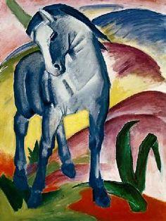 Franz Marc - Blue Horse I