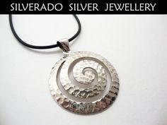 Greek Spiral Eternity Key  Sterling Silver by SilveradoJewellery, €60.00