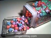 Origami Star Jar- How to fold Origami Lucky Stars :)