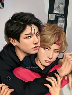 BTS (방탄소년단) Fanart Like the real thing (BY JAEMRX)