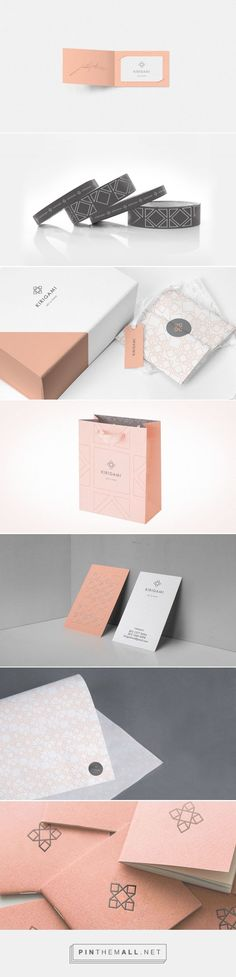 Kirigami on Behance by CHAPTER ®️ Monterrey, Mexico curated by Packaging Diva PD. Desarrollo de marca para Kirigami. Graphic design, packaging, branding.