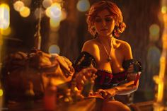 Tagged with cosplay, photography, witcher, cosplay done right, witcher Shared by Waiting for 'Happily Ever After' Witcher 3 - Triss by Sasha Kostyukevich Witcher 3 Triss, Witcher Art, Ciri, The Witcher, Triss Merigold, Cyberpunk Girl, Hyperrealism, Geek Girls, Happily Ever After
