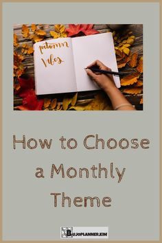 Maybe you love bullet journalling, but feel like you are running out of ideas for what theme to do. Does deciding the monthly theme for your bujo cause you any stress or anxiety? This article will help inspire and motivate you to create the right theme for YOU! Get planning with the right look that brings you joy. Bullet Journal How To Start A, Bullet Journal Junkies, Bullet Journal Layout, Bullet Journal Inspiration, Bullet Journals, Bujo Weekly Spread, Need Motivation, Monthly Themes, Journalling