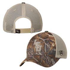 LSU Tigers Top of the World Prey Realtree Xtra Trucker Adjustable Hat - Camo - $17.99