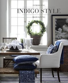 The Cottage Market: Take Five: The Color Navy in Home Decor