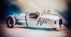 Morgan EV3: un 3 Wheeler eléctrico que llegará en Goodwood - http://www.actualidadmotor.com/morgan-ev3-un-3-wheeler-electrico-que-llegara-en-goodwood/