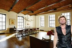 Bon Jovi Tours Puck Penthouses Before They Hit The Market - Celebrity Real Estate - Curbed NY