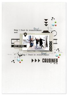#papercrafting #scrapbook #layouts
