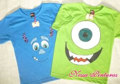Camiseta Monstros S.A.