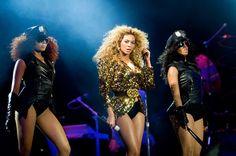 Beyonce killin it at Glastonbury music fest