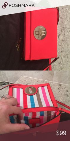 Kate Spade small crossbody purse Small crossbody purse, tags still on! Never used. kate spade Bags Crossbody Bags