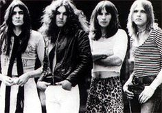 UFO January/1975-August/1975 : Pete Way Andy Parker, Phil Mogg, Michael schenker