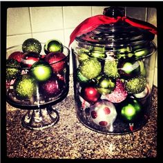 I do these on a smaller scale on my mantle with lights behind them. I love them. I think I'll go larger this year :)