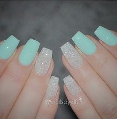 Blue and white sparkle