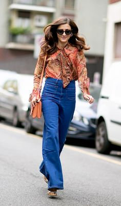 23 High-waisted jeans outfit ideas to wear right now | spring 2017 fashion | @stylecaster
