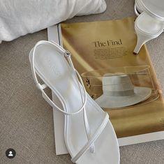 White srappy sandals Chanel Ballet Flats, Ballet Shoes, Mango Shoes, Ankle Bracelets, Women's Shoes Sandals, Favorite Color, Stiletto Heels, Goat, Leather