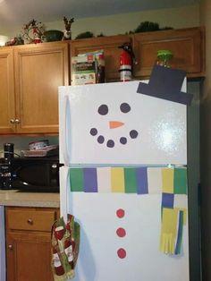 "They ""built a snowman"""